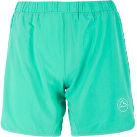 La Sportiva Flurry pantaloncini da corsa Donna verde